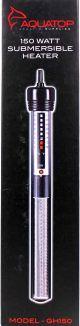 Glass Aquarium Heater 150 Watt - For Aquariums up to 40gallons