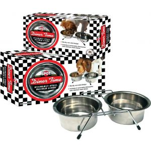Stainless Steel Doubel Diner 2 Quart