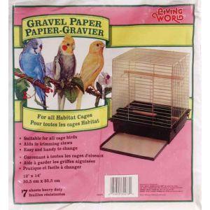 LIVING WORLD Gravel Paper 12in x 14in 8pk