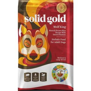 Solid Gold Wolf King Adult Bison & Brown Rice 12lb