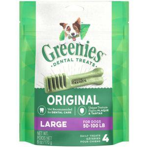 Greenies Original Dental Chew - Large 4 piece