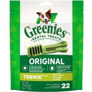 Greenies Original Dental Chew - Teenie 22 piece