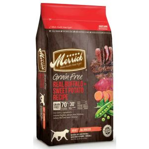 MERRICK Dog Grain Free Bison 22lb