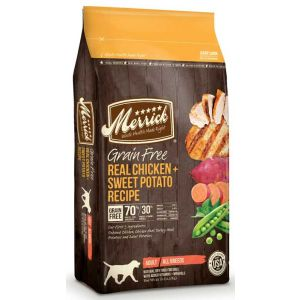MERRICK Dog Grain Free Chicken  22lb