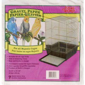 LIVING WORLD Gravel Paper 15.75in x 15.5in 8pk