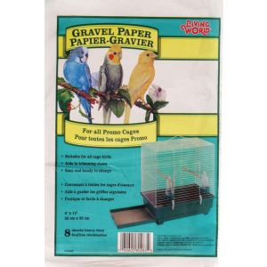 LIVING WORLD Gravel Paper 8in x 13in 8pk