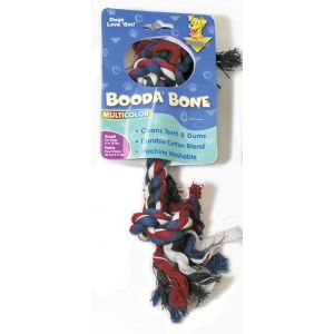 Booda 2 Knot Rope Bone Small