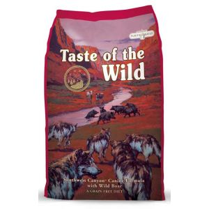 Taste of the Wild Dog Southwest Canyon with Wild Boar  28lb