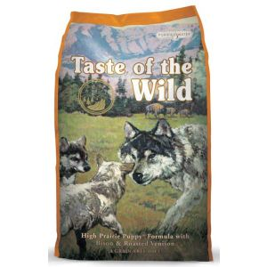 Taste of the Wild Puppy High Prairie with Bison and Roasted Venison 28lb