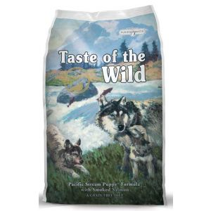 Taste of the Wild Puppy Pacific Stream with Smoked Salmon 28lb