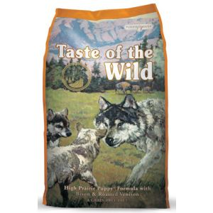 Taste of the Wild Puppy High Prairie with Bison and Roasted Venison 14lb